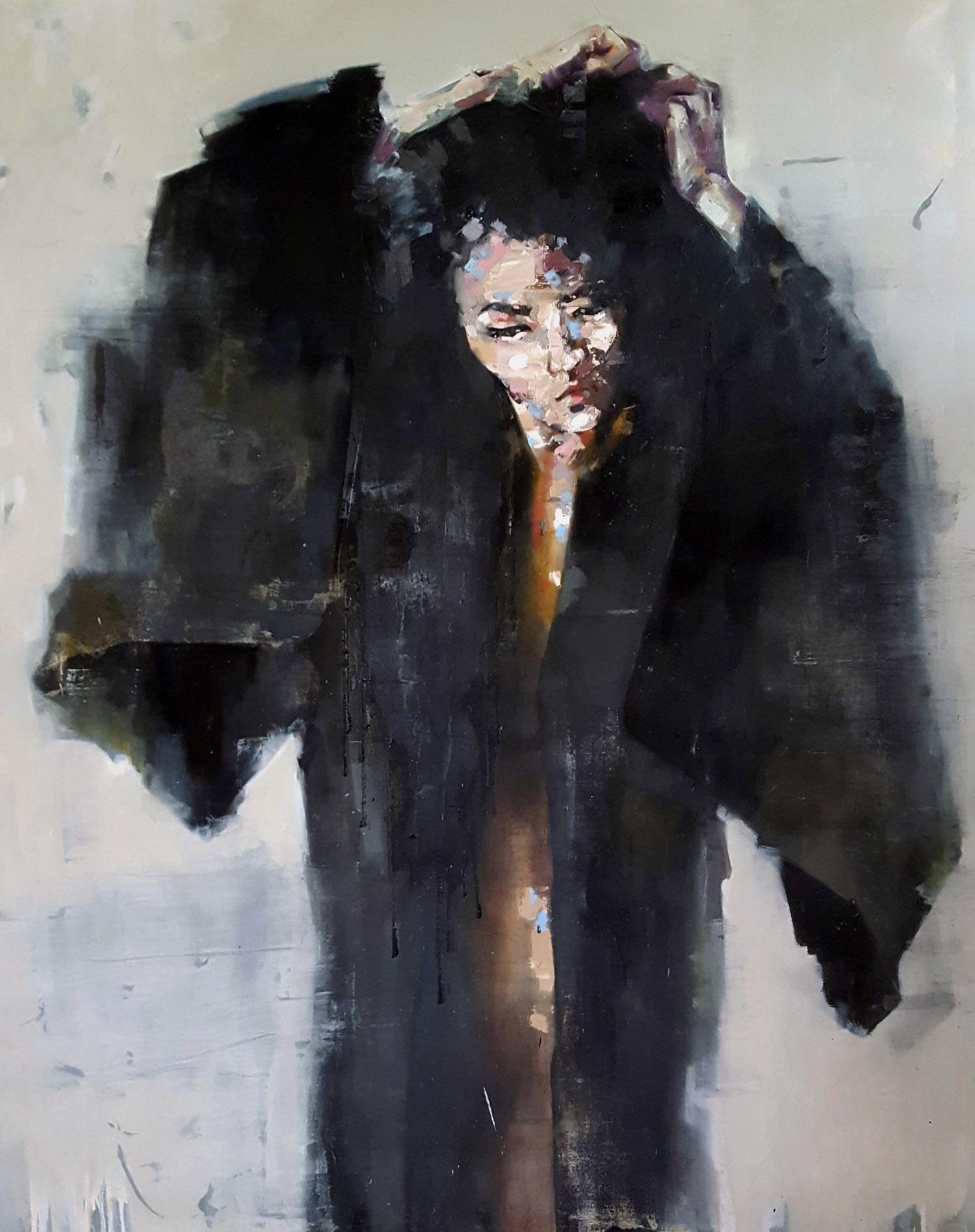 serene 5-17-19 oil on canvas, 150x120cm